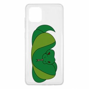 Etui na Samsung Note 10 Lite Green snake