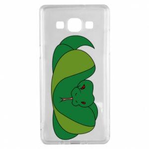 Etui na Samsung A5 2015 Green snake
