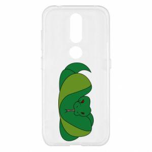Etui na Nokia 4.2 Green snake