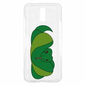 Etui na Nokia 2.3 Green snake