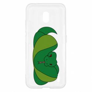 Etui na Nokia 2.2 Green snake