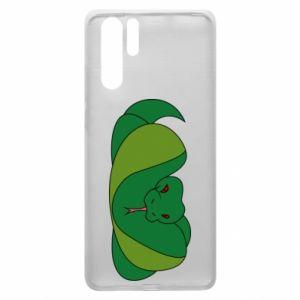 Etui na Huawei P30 Pro Green snake