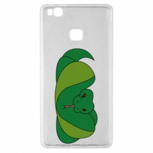 Etui na Huawei P9 Lite Green snake