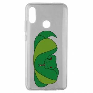 Etui na Huawei Honor 10 Lite Green snake