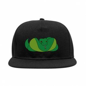 Snapback Green snake - PrintSalon