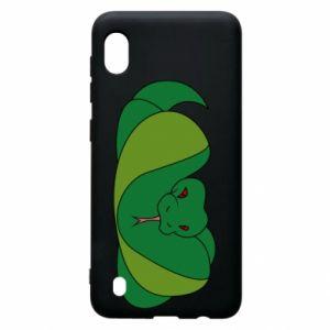 Etui na Samsung A10 Green snake