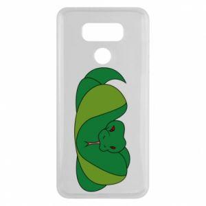 Etui na LG G6 Green snake