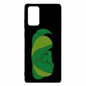 Etui na Samsung Note 20 Green snake