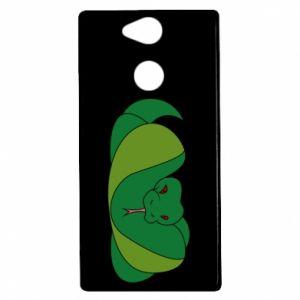Etui na Sony Xperia XA2 Green snake