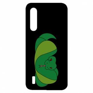 Etui na Xiaomi Mi9 Lite Green snake