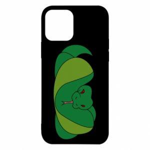 Etui na iPhone 12/12 Pro Green snake