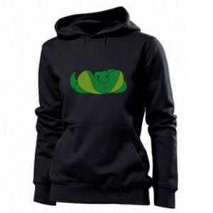 Damska bluza Green snake - PrintSalon