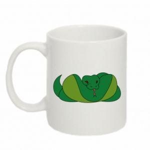 Kubek 330ml Green snake