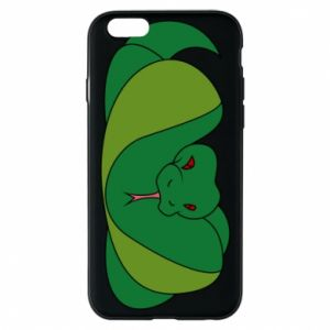Phone case for iPhone 6/6S Green snake