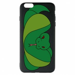 Phone case for iPhone 6 Plus/6S Plus Green snake