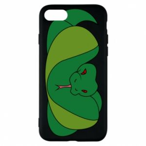 Phone case for iPhone 8 Green snake
