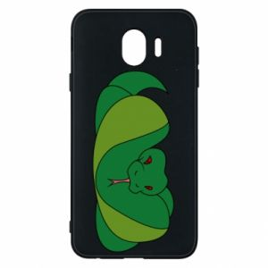 Etui na Samsung J4 Green snake