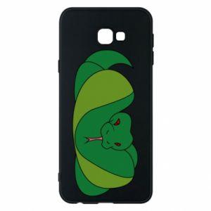 Etui na Samsung J4 Plus 2018 Green snake