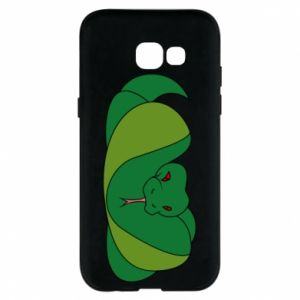 Phone case for Samsung A5 2017 Green snake