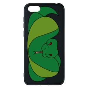 Phone case for Huawei Y5 2018 Green snake