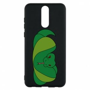 Phone case for Huawei Mate 10 Lite Green snake
