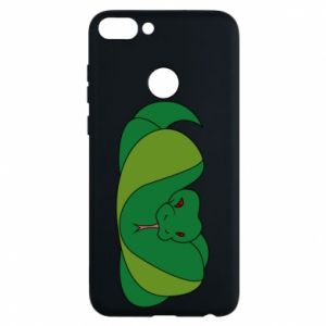 Phone case for Huawei P Smart Green snake