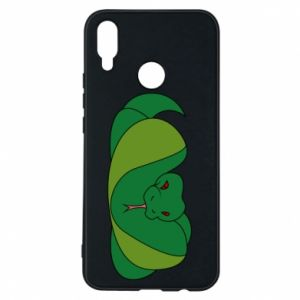 Phone case for Huawei P Smart Plus Green snake