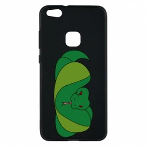 Phone case for Huawei P10 Lite Green snake