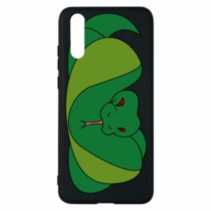 Phone case for Huawei P20 Green snake