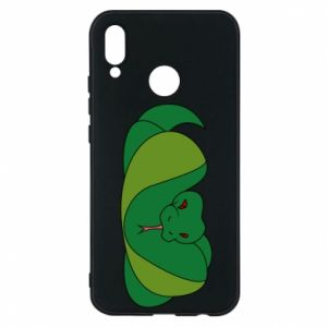 Phone case for Huawei P20 Lite Green snake