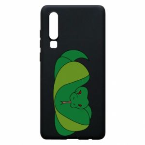 Phone case for Huawei P30 Green snake