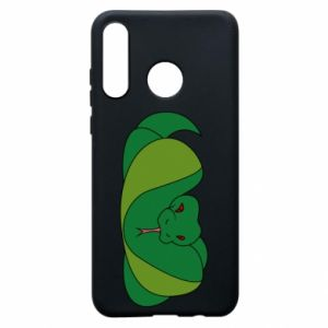 Phone case for Huawei P30 Lite Green snake