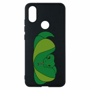 Etui na Xiaomi Mi A2 Green snake