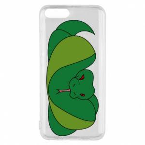 Etui na Xiaomi Mi6 Green snake