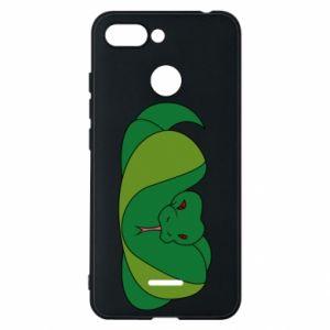 Etui na Xiaomi Redmi 6 Green snake