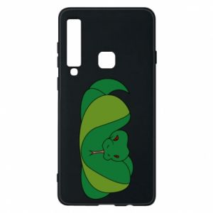 Phone case for Samsung A9 2018 Green snake