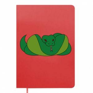 Notes Green snake