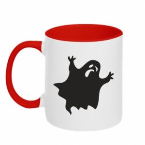 Two-toned mug Grimace of horror - PrintSalon