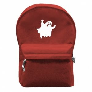 Backpack with front pocket Grimace of horror - PrintSalon
