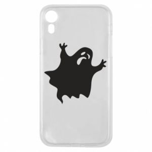 Etui na iPhone XR Grimace of horror