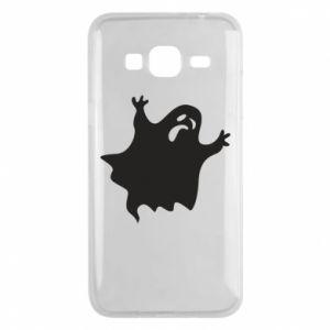 Phone case for Samsung J3 2016 Grimace of horror - PrintSalon