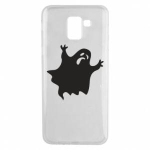 Phone case for Samsung J6 Grimace of horror - PrintSalon