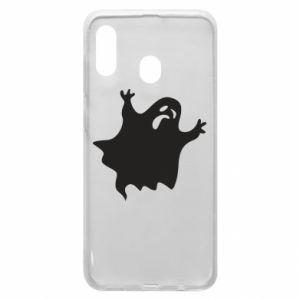 Phone case for Samsung A20 Grimace of horror - PrintSalon