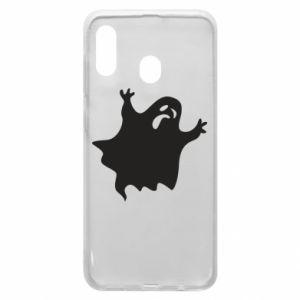Phone case for Samsung A30 Grimace of horror - PrintSalon