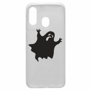 Phone case for Samsung A40 Grimace of horror - PrintSalon