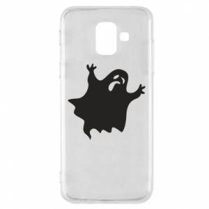 Phone case for Samsung A6 2018 Grimace of horror - PrintSalon