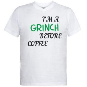 Męska koszulka V-neck GRINCH