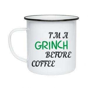 Enameled mug GRINCH