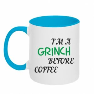 Two-toned mug GRINCH