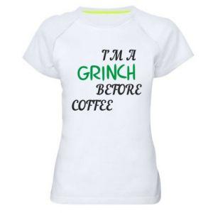 Women's sports t-shirt GRINCH